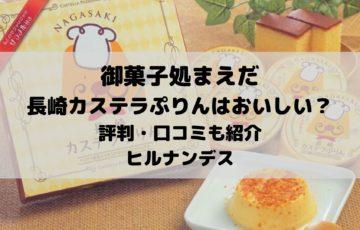 御菓子処まえだの長崎カステラぷりんはおいしい?評判・口コミも紹介|ヒルナンデス